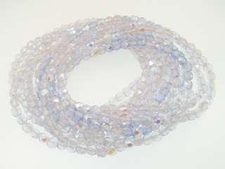 Czecko Stretch Beaded Bracelets Light Amethyst 12pcs j