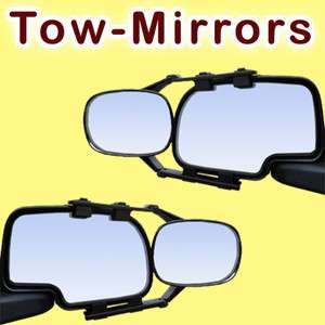 MIRRORS tow trailer camper rv side view extension extenders truck suv