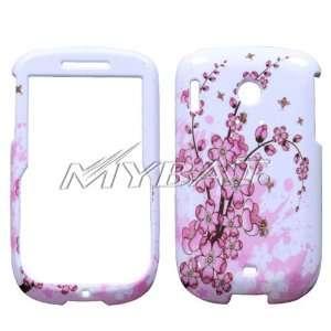 Spring Flower Design Snap On Hard Case for HTC Snap S511