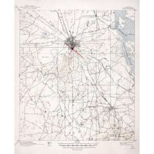 USGS TOPO MAP OCALA QUAD FLORIDA (FL/MARION) 1895 Home