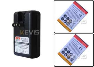 1700mAh Battery + US Wall USB Charger For LG Esteem Bryce MS910