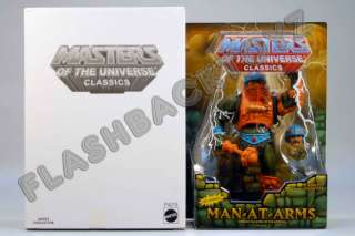 2010 MOTU Classics Man At Arms MOC Reissue