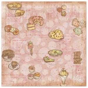 Sweet Tooth Scrapbook Paper Office Products