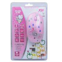 Hello Kitty USB 2.4G Wireless Mouse Pink New In Box