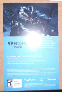 spec ops pack pc brink steam code dlc Rare Dogtag tat