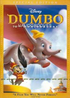 DUMBO Anniversary Special Disney Classic Cartoon R3 DVD