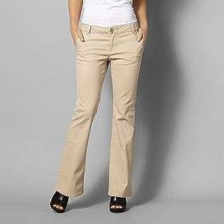 Womens Flare Chino Pants  Route 66 Clothing Womens Pants