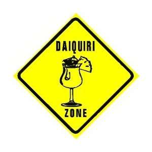 DAIQUIRI ZONE mixed alcohol drink bar sign