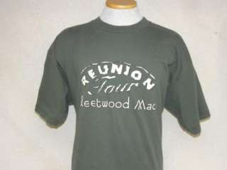 FLEETWOOD MAC CONCERT t shirt 2009 REUNION TOUR XL