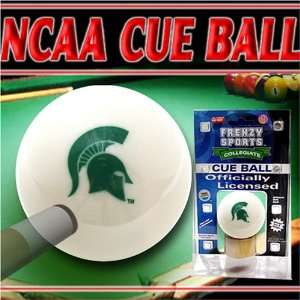 Michigan State Spartans NCAA Logo Billiards Pool Cue Ball