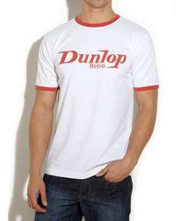 White (White) Dunlop Retro Logo Tee  242816310  New Look