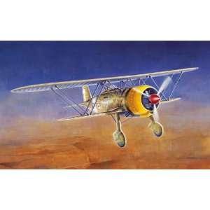 ITALERI   1/72 CR42 Falco WWII BiPlane (Plastic Models) Toys & Games