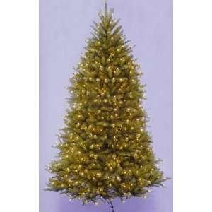 com 10 Dunhill Fir Pre Lit Artificial Christmas Tree   Clear Lights