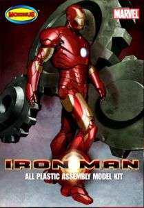MOEBIUS MARVEL IRON MAN PLASTIC MODEL KIT