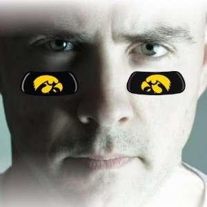 NCAA Iowa Hawkeyes Team Logo EyeBlack Strips:  Home