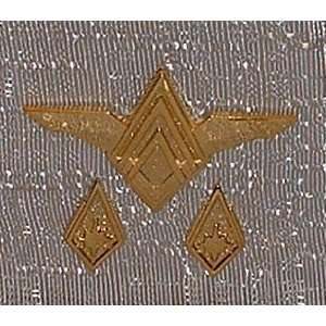 Battlestar Galactica SENIOR OFFICERS RANK PIN SET