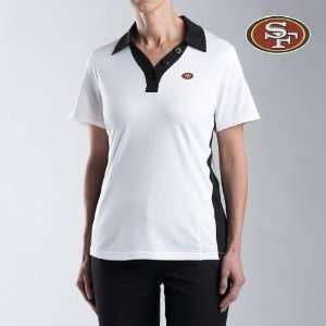 Cutter & Buck San Francisco 49ers Womens Duet Polo