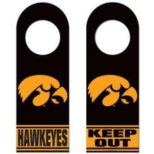 Iowa Hawkeyes Official Logo Wood Door Hanger: Sports