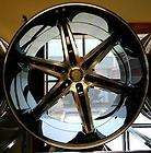 26 VW 925 BLACK WHEELS RIMS AND TIRES 6X139.7 TAHOE ESCALADE TITAN