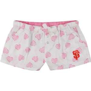 San Francisco Giants Womens Pink Essence Shorts