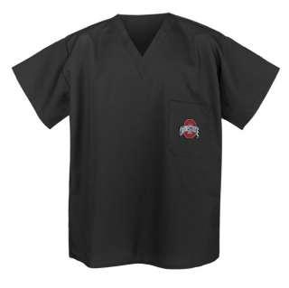 Oklahoma State University SCRUBS Cool Black Shirts Med 763922894026