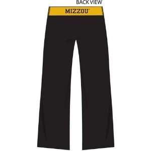 Missouri Tigers Mizzou Womens Crop Yoga Pants Exercise Gear