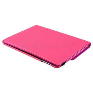 For iPad 2 360° Degree Swivel Magnetic with Stand Leather Case Cover