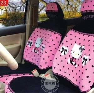 neu Hello Kitty Auto Sitzbezug pink Set car seat cover
