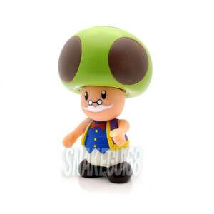New Super Mario 3.5 TOAD Figure Toy+MS595