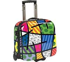 Romero Britto New Landscape Luggage Heys E Case Laptop