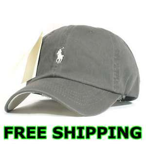 Polo Casual Outdoor Golf Sport Ball Classic Cap Hat Gray