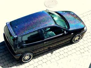 XXL Metal Flakes Royal Purple Auto Car Candy Effekt Lack Flip Flop