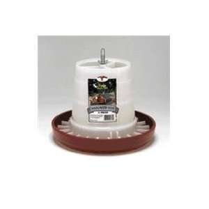 PLASTIC HANGING FEEDER, Color RED; Size 11 POUND