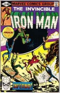 Iron Man Comic Book #137, Marvel Comics 1980 VERY FINE+