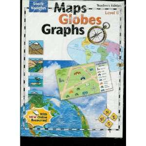Vaughn Maps, Globes, Graphs: Teachers Guide Level B 2004 (Cr Maps