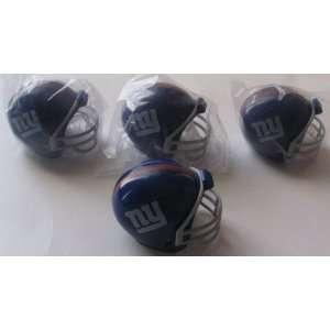 NFL Football Mini Helmets New York Giants Pencil Toppers Vending Toys