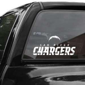 San Diego Chargers 4 x 17 Die Cut Decal Strip