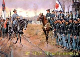 Art oil painting on CanvasAmerican Civil War |