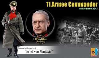 56.Panzer Korps Commander Erich von Manstein Action Figure