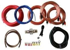 DB Link XK8B2 8 Gauge 4 Channel Car Amp Installation Kit Install Wire