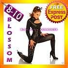 8352 PVC Catwoman Fancy Dress Adult Costume S/M 8/10