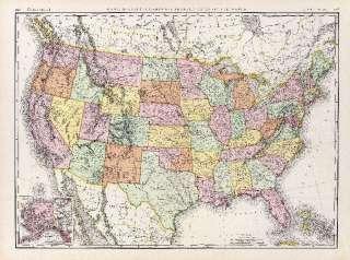 1897 Rand McNally map of United States 63