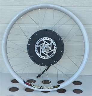 Bike Conversion Kit   Rear Hub Motor with 26 Rim and Speed Controller