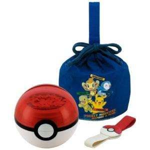Pokemon Monster Ball Double Tire Bento Lunch Box Set
