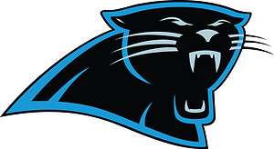Carolina Panthers Head Only Vinyl Die cut Decal / Sticker ** 3 Sizes