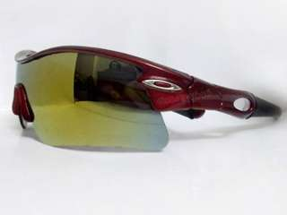 New Bike Bicycle Sport Cycling RED Sun Glasses Google E33d