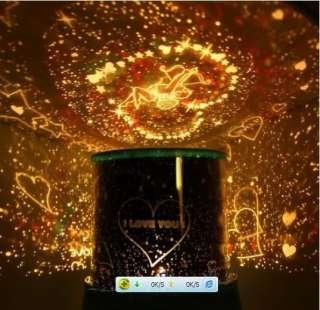 Romantic Cupid Kiss Lover Star Night Lighting Projector Lamp