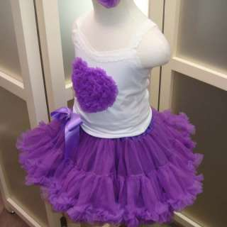 National Pageant Dress Casual Wear Valentine Purple 2 3