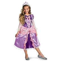 Disney Princess Rapunzel Deluxe Shimmer Halloween Costume   Toddler