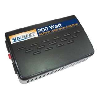Sunforce 200 Watt Modified Sine Wave Inverter 11134 at The Home Depot